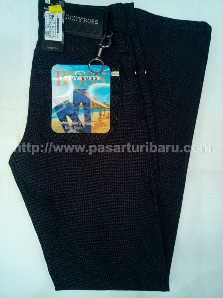 Celana Jeans BODY BOSS Original Blue Dry