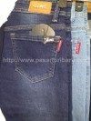 Celana Jeans Stretch Pencil Panjang Glows